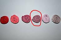 Бретельки тканевые Lemila лиловые ширина 1 см