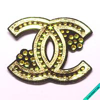 Нашивки на обувь термо Логотип [Свой размер и материалы в ассортименте]