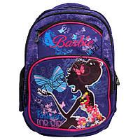 """Рюкзак детский школьный для девочек """"Barbie"""" (40х35см.) фиолетовый"""