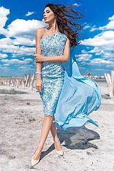Шикарное вечернее платье а001