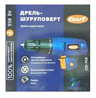 Шуруповёрт сетевой Craft CED-950