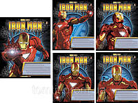 Тетради «Ironman (Железный человек)» 24 листа, клетка