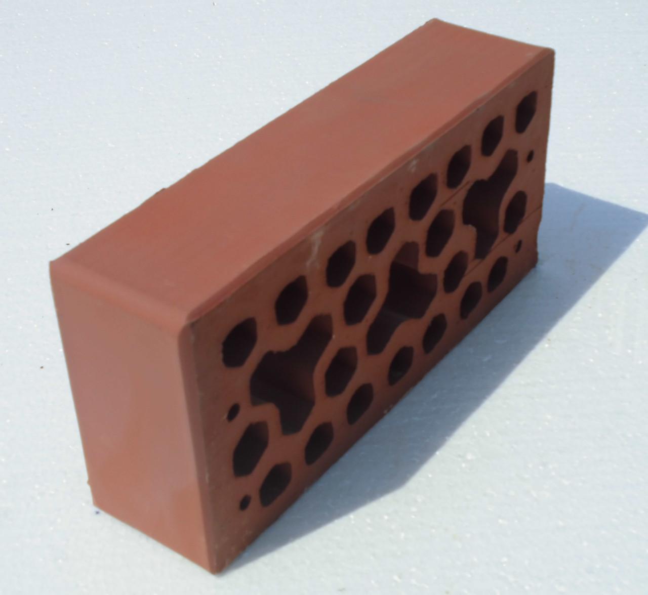 Лицевой керамический кирпич Вишневый Ч7
