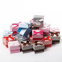Подарочная коробочка для кольца и серьг квадратная - Для тебя