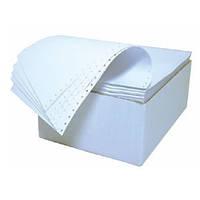 Бумага перфорированная фальцованная в листах для всех типов матричных принтеров 420