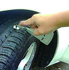 Приспособление для измерения глубины протектора шин и тормозных колодок Force 9B1802 , фото 2