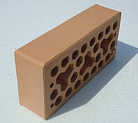 Лицевой керамический кирпич Абрикосовый  Ж2