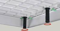 Комплект ножек (9шт) и креплений лицевой  панели для 800/900 квадратного и прямоугольного  поддона