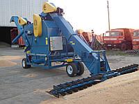 Очиститель вороха самопередвижной ОВС-70МП комбинированный с зернометателем и зернопогрузчиком