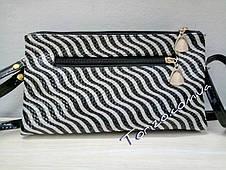 Жіночий клатч кожзам сумочка жіноча, фото 2