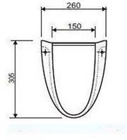 FREJA полупьедестал для комплектации с L71150,L71155,L71160  (укр.)