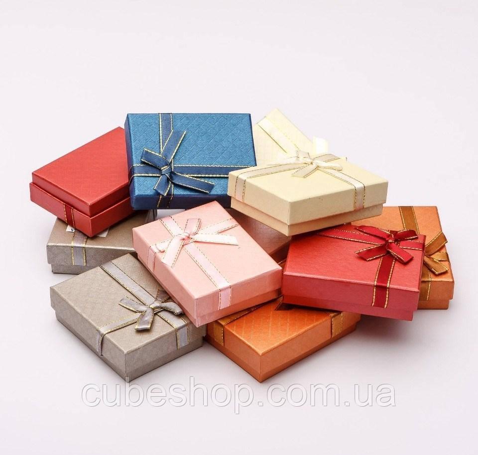 Коробка для бижутерии 7х9х3см - Классика №1