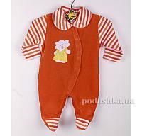 Комбинезон детский Niso Baby 4012 оранжевый 68