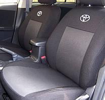 """Чехлы салона """"Virtus"""" Toyota Auris (с 2007--) Чёрный"""