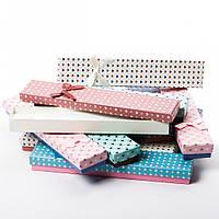 Коробочка подарочная для цепочки, браслета - Сердечки, фото 1