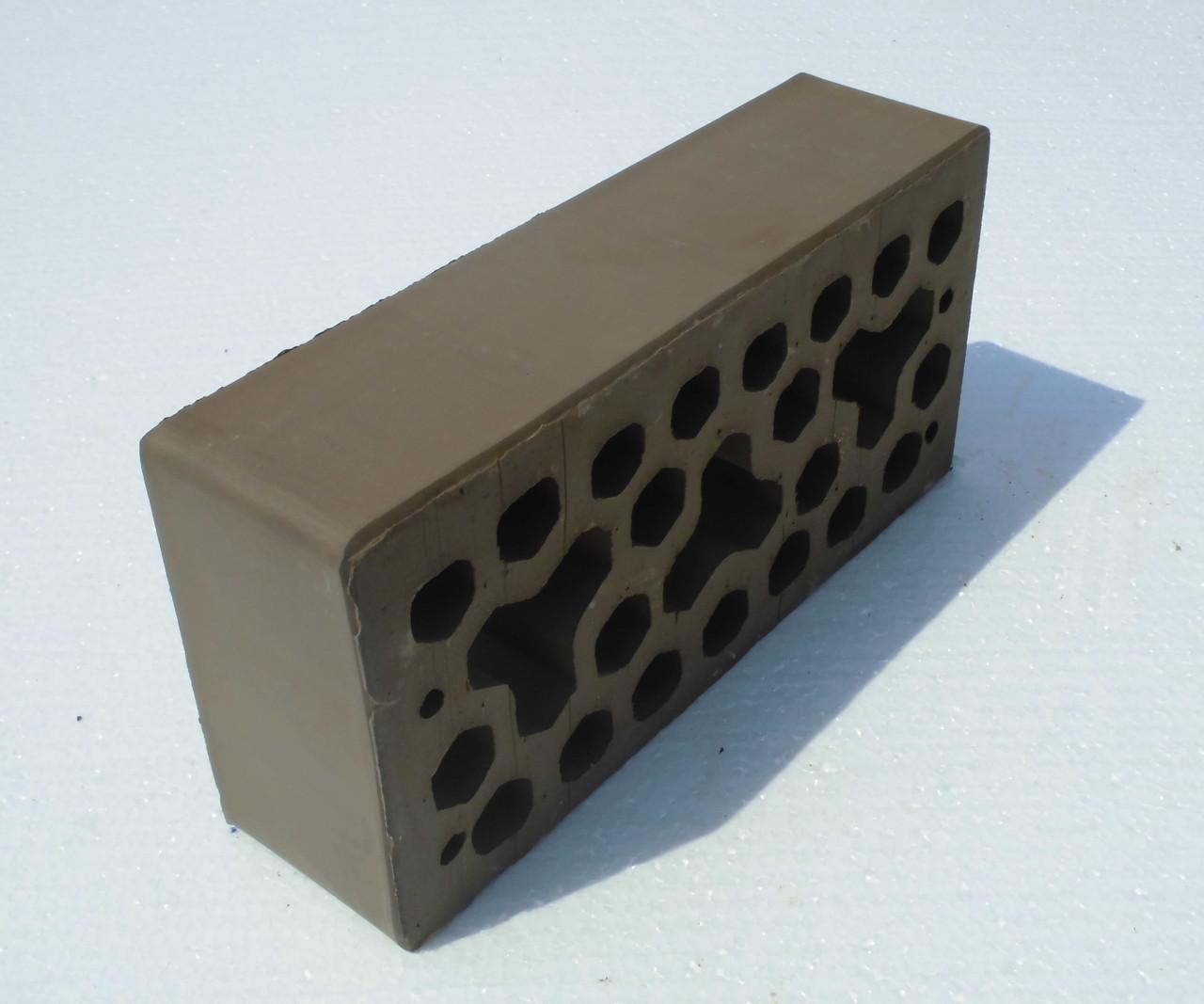 Лицевой керамический кирпич Коричневый(Какао КЧ1, Кофе КЧ2)