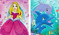 Набор для творчества Волшебные мозаики, WINX 3DM-EP100 (Дельфины или принцесса)