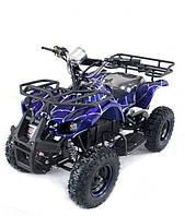 Квадроцикл электрический HL-E421F 800W 36V Синий