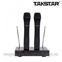 Беспроводная микрофонная система Takstar TS-6310, радиосистема, фото 2