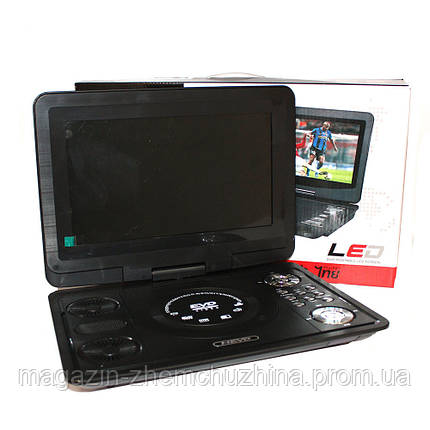 Портативный DVD-плеер 1039, dvd проигрыватель в автомобиль, фото 2