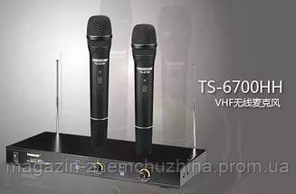 Профессиональная радиосистема Takstar TS-6700HH, беспроводные микрофоны, фото 3