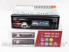 Магнитола автомобильная 3215 USB + RGB подсветка + Fm + Aux + пульт (4x50W), фото 3