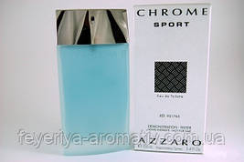 Тестер Туалетная вода Azzaro Chrome Sport 100мл