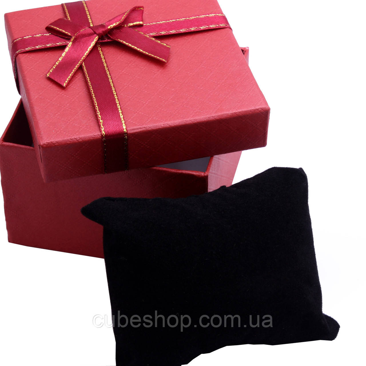 Коробочка с подушкой 90х90х60мм - Классика