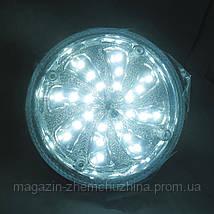 Аварийная лампа Kamisafe KM-5601C на 24 диода, светодиодная лампочка фонарь, фото 3