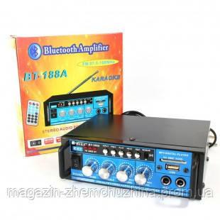 Усилитель мощности звука BT-188А, аудио усилитель, фото 2
