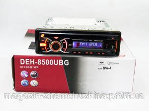 Автомагнитола DEH-8500UBG, магнитола автомобильная USB+Sd+MMC съемная панель, фото 2