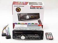 Автомагнитола Pioneer 8511 USB + RGB подсветка + Sd + Fm + Aux + пульт (4x50W)