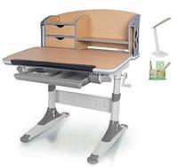 Стол трансформер с надстройкой Evo-Kids Aivengo 80см + лампа, фото 1