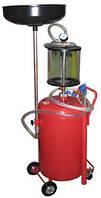 Передвижная емкость для слива масла KRAFT, фото 1