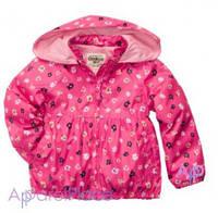 OshKosh Курточка на девочку розовая в цветочек