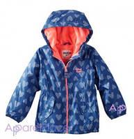 OshKosh Куртка синяя на девочку на флисе, Сердечки 2-5