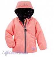 OshKosh Куртка на девочку коралловая на флисе