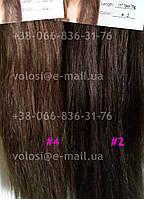 Волосы на заколках дешево.