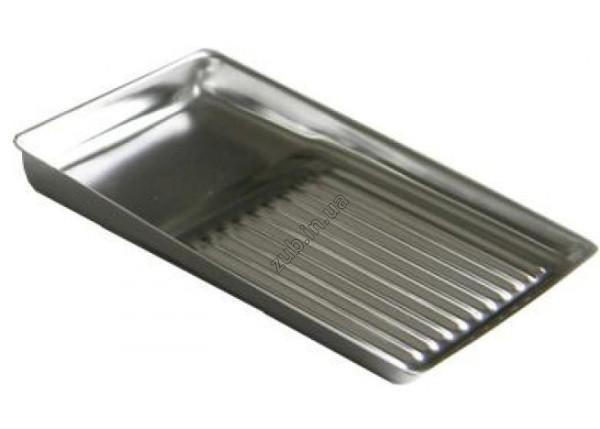 Лоток металлический на 11 инструментов прямоугольный