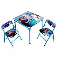 Раскладной стол и 2 стула DT21
