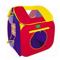 Детская игровая палатка 3006 домик, размер 90-90-100 см, в сумке