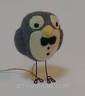 Игрушка Кукла Птичка в технике валяние, фото 1