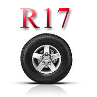 Летние шины б/у R17