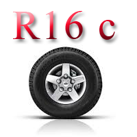 Шины б/у R16c зимние