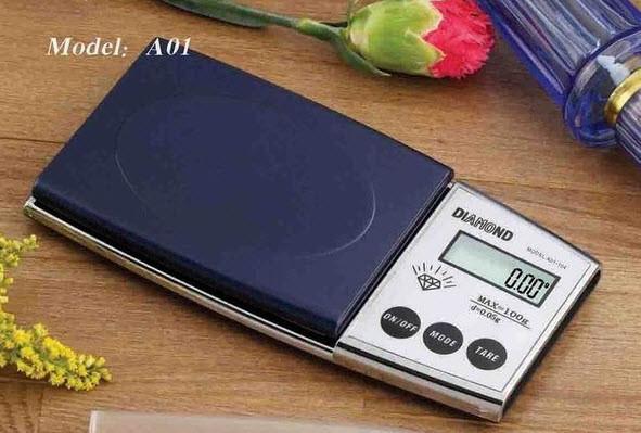 Ювелирные высокоточные весы Electronic pocket scale diamond 0.01-100g.