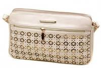Женская кожаная сумка клатч Podium