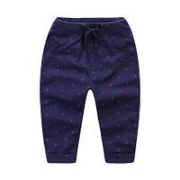 Стильные детские штаны для девочки 130-140см.