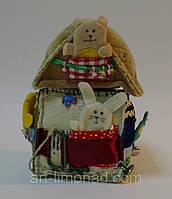 Домик Теремок с пальчиковыми персонажами, фото 1