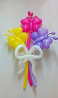 Букет бабочек из воздушных шаров