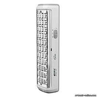 Светодиодный аккумуляторный LED фонарь Kamisafe KM-7610A 44 LED